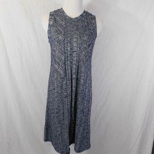 Gap Sleeveless Knit Rib Grayish Dress NWT MEDIUM